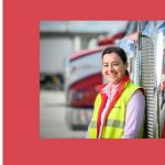 Melissa Strong wins 'Excellence in Transport Award at the Women in Industry Awards