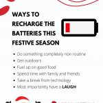 Week 4 – Ways to Recharge the batteries this festive season